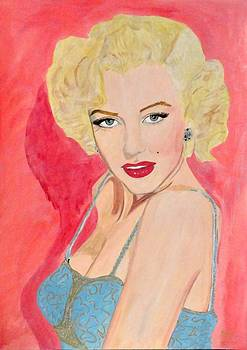 Marilyn Monroe by Estelle BRETON-MAYA