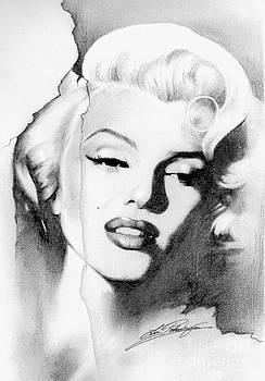 Marilyn Monroe by Lin Petershagen