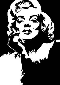 Marilyn Pop Art by Siobhan Bevans