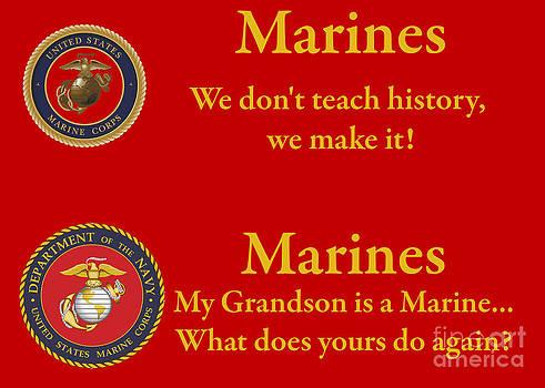 Tim Mulina - Marine Grandson