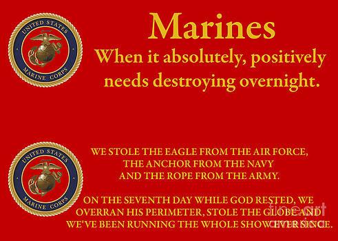 Tim Mulina - Marine Sayings 8