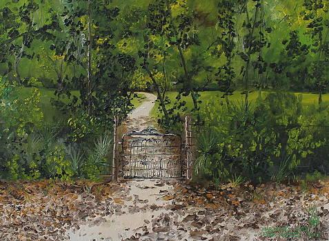 Marjorie's Gate by Larry Whitler