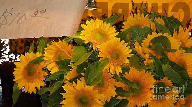 Market Flowers by Enid Gough