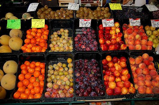 Market Fruit by Debbie Cook