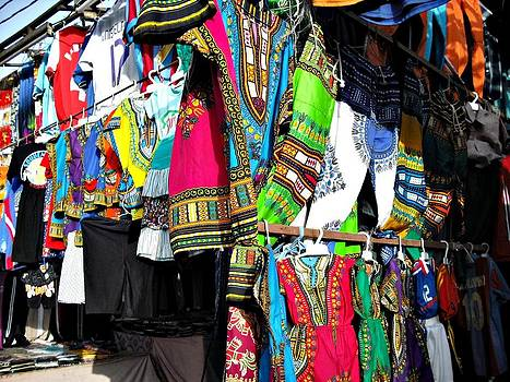 Market of djibuti with more colors by Jenny Senra Pampin