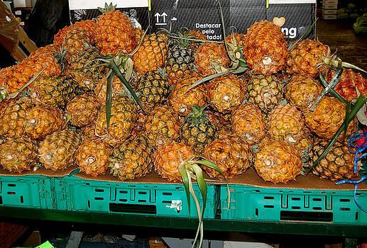 Market Pineapples by Debbie Cook