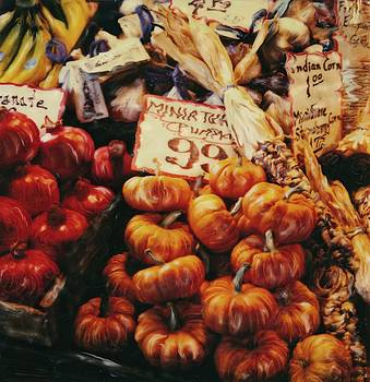 Market Vegetables by Rod Huling