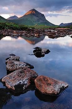 Marsco and River Sligachan by Stewart Smith