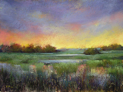 Marsh Twilight by Karen Margulis