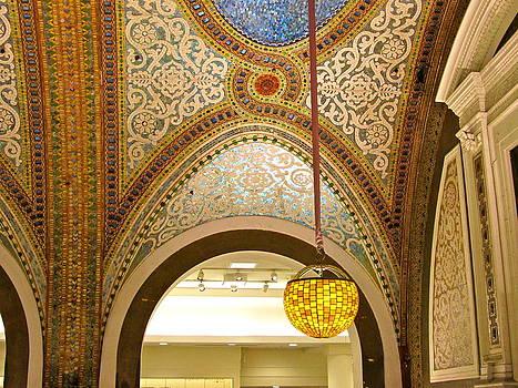 Marshall Field's Mosaic by Stephanie Olsavsky