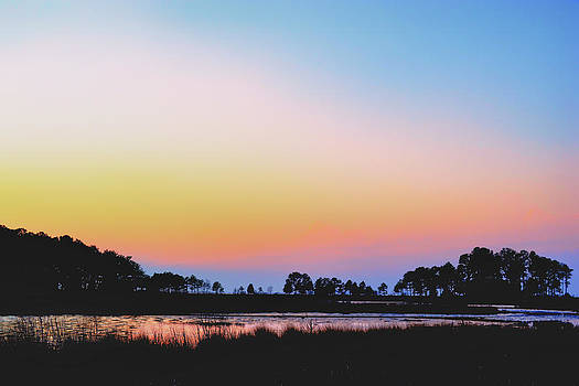 Marshy Sunset by Kelly Reber