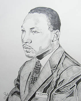 Martin Luther King Jr. by John Keaton