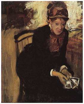 Edgar Degas - Mary Cassatt