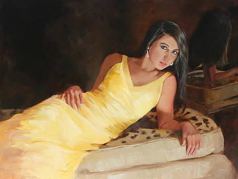 Chris  Saper - Mary in Saffron