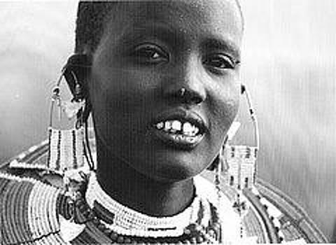 Masai woman by Dennis Ditmeijer