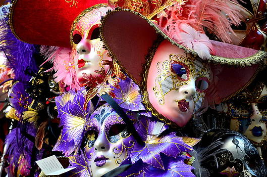 Martina Fagan - Maschere di Venezia-maschera di carnevale di Venezia