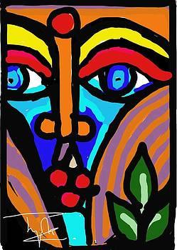 Mask 1 by Jyotsna Chandra