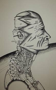 Masked metal by Matthew Wright