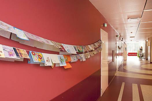 Maternity Unit Clinic Corridor by Jaak Nilson