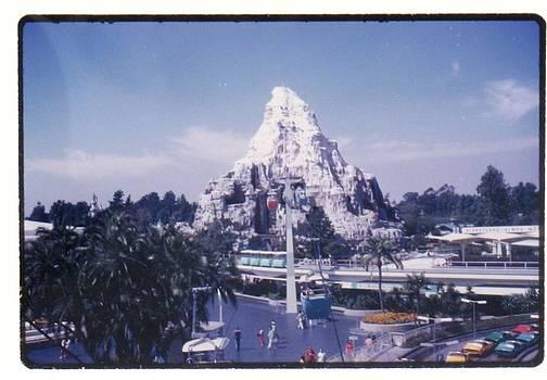 Matterhorn by Disneyland
