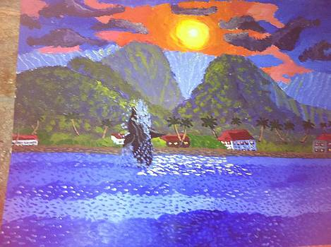 Maui sunrise  by David Stich