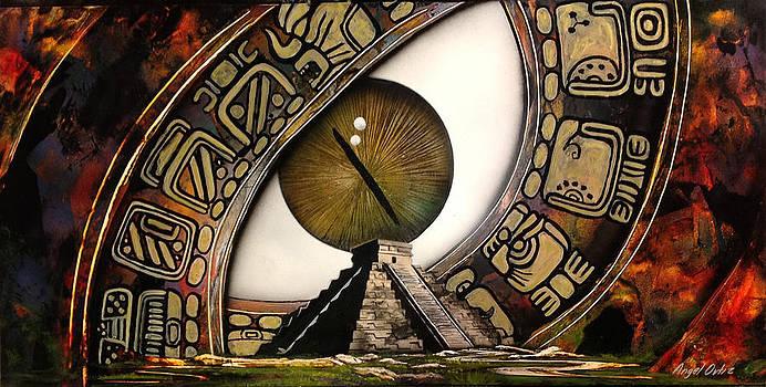 Mayan Calendar Haab 5 by Angel Ortiz