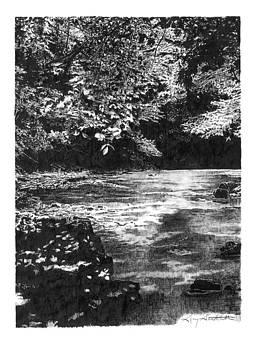 Mayestown Creek by Gary Gackstatter