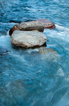 McDonald Creek Glacier National Park by Bruce Gourley
