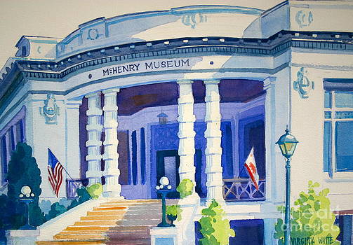 McHenry Museum by Virginia White