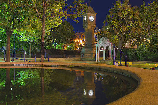 McKee Clock by Night by Drew McAvoy
