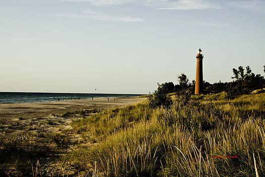 Mears' Lighthouse by Timothy J Berndt