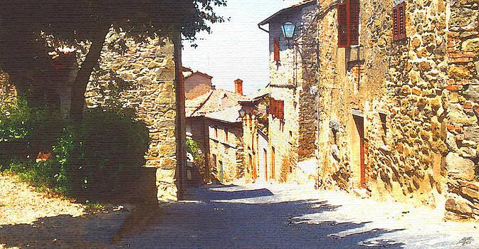 Steve Huang - Medieval Street in Italy