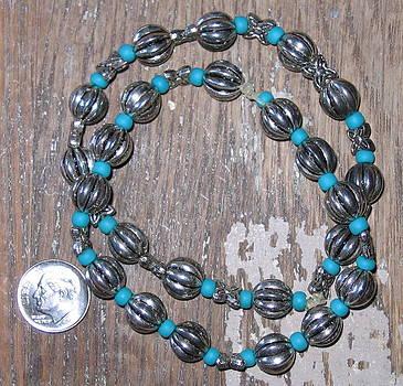 Medium Large Bali Bling Bracelet by Elizabeth Carrozza