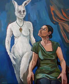Mein Freund Harvey by Carmen Stanescu Kutzelnig