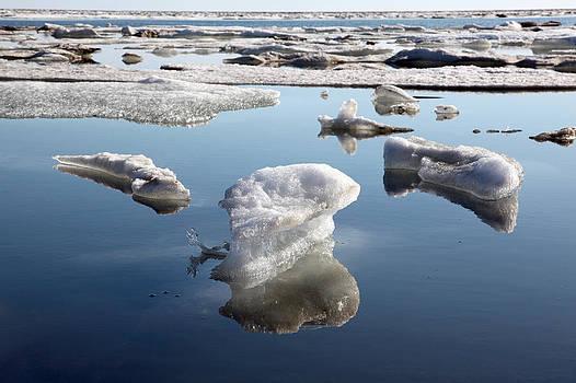 Melting Ice Cap by Wyatt Rivard