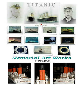 Memorial Titanic  art compilation by Marko Lulic