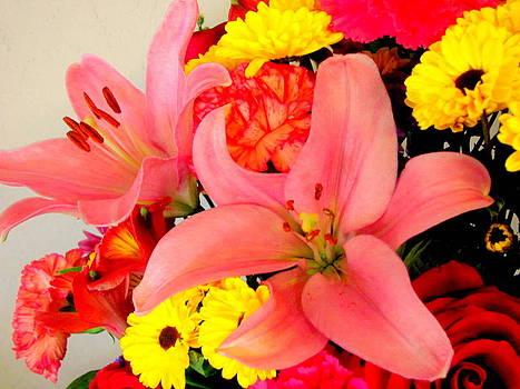 Memories Flower Bouquet by Amy Bradley