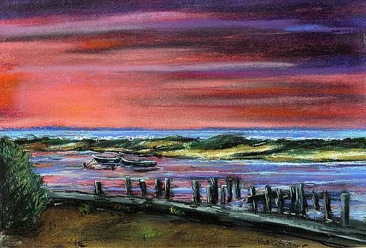 Menemsha sunset by Paul Gardner