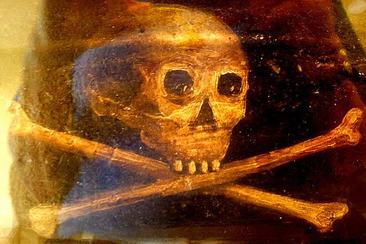 Menendez Coffin Skull by Warren Clark