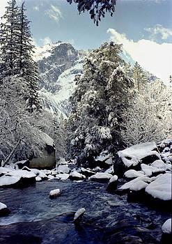 Merced River winter Yosemite by John Wolf