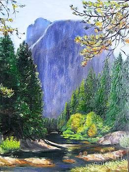 Merced River Yosemite by Lorna Saiki