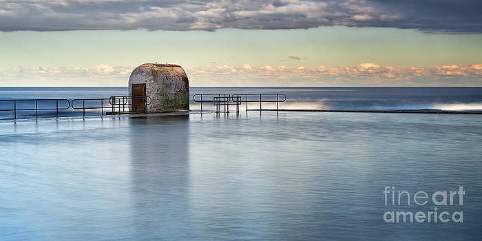 Merewether Ocean Baths - Pump house by Michael Howard