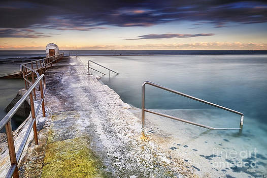 Merewether Ocean Baths by Michael Howard