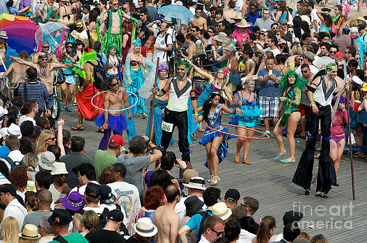 Tom Callan - Mermaid Parade c. 2011