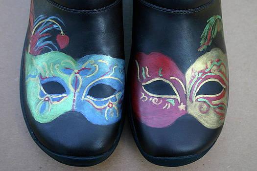 Merrells Go Mardi Gras by Alice Toler