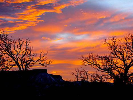 Mesa Verde Sunset by FeVa  Fotos