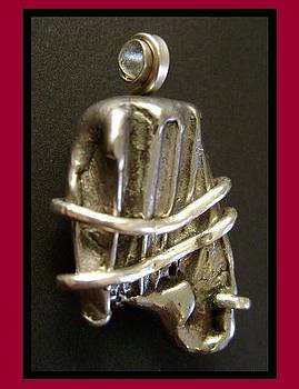 Meteorite Pendant I - SOLD by Art Ortega