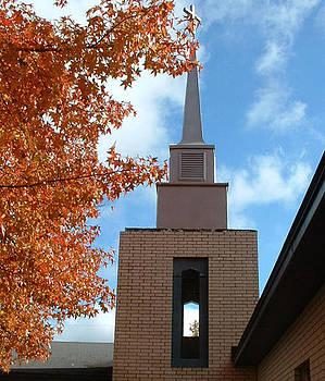 Methodist Church by Linda Pope