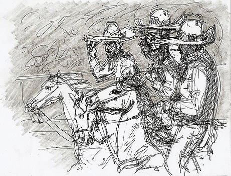 Mexican Charros by Dean Gleisberg