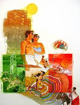 Cliff Spohn - Mexico Travel Poster